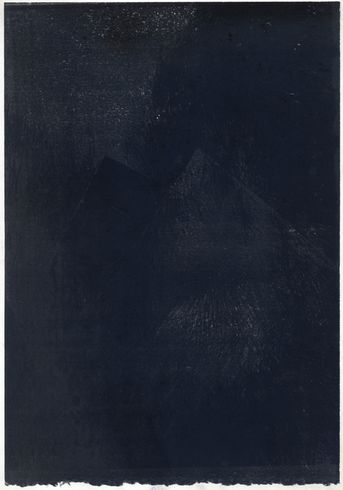 Untitled (black on black), 2012