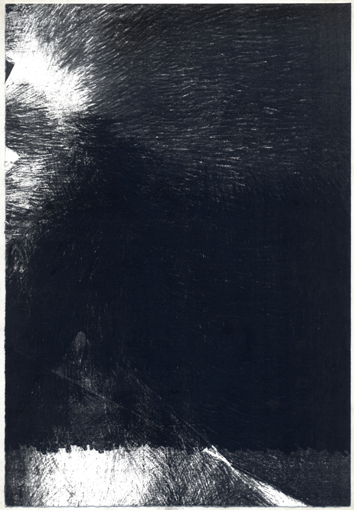 Untitled (shadowed peaks), 2012