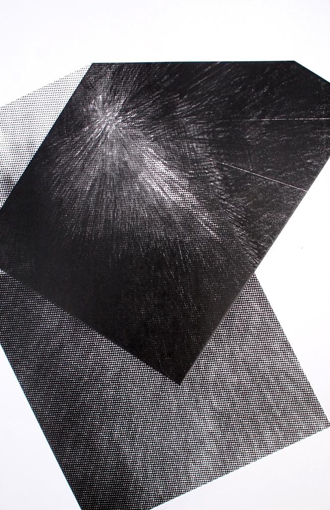 Untitled (burst diptych), 2012