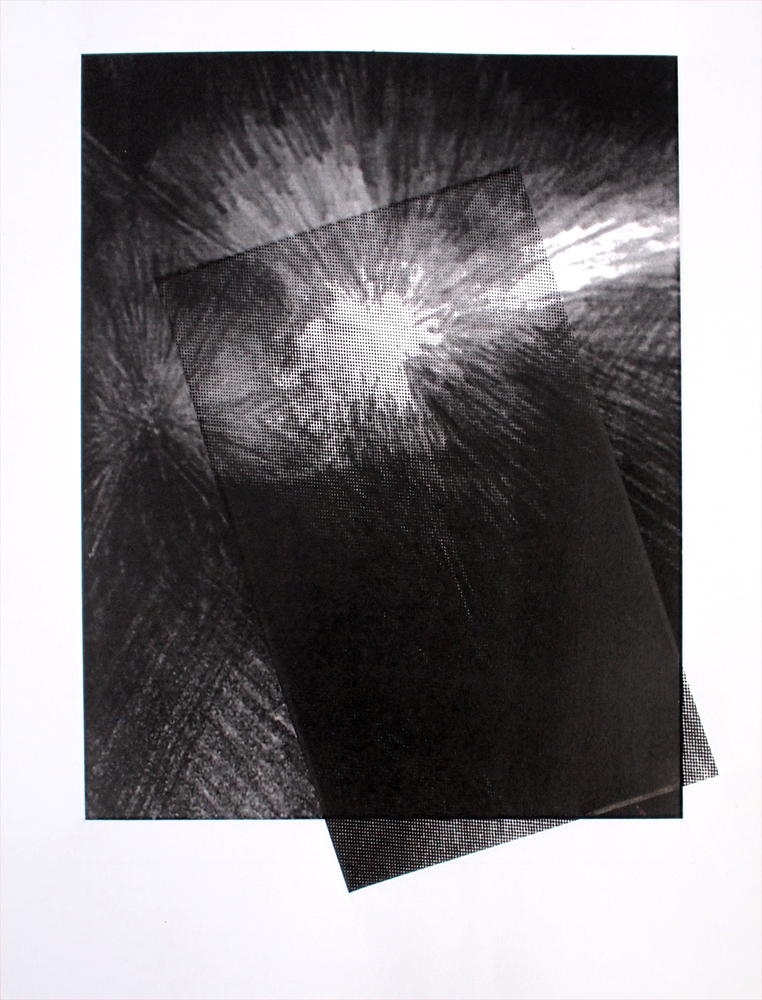 Untitled (burst diptych), 2012